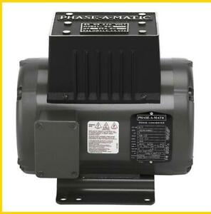 R 5 3 Hp 220 Vac Phase a matic Rotary Phase Converter