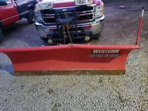 Western Snow Plow Complete Set Up