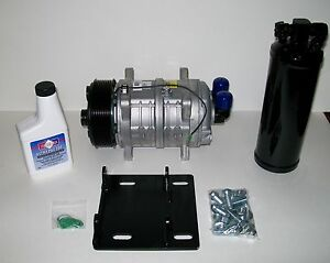 York To Sanden A c Eight Groove Compressor Conversion Kit With Heavy Duty Seltec