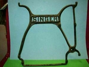 1891 Singer Treadle Sewing Machine Stand Part Main Center Support 03g4