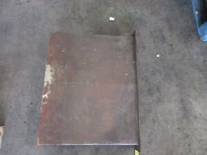 1998 Haas Vf4 Cnc Vertical Mill Way Cover Covers 34 X 25 Inch