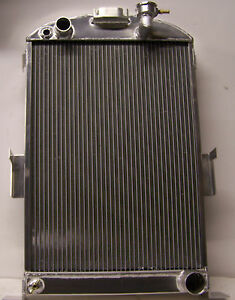 1935 1936 Ford Car Radiator With Chevy V 8 Aluminum Radiator