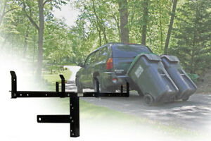 Garbage Can Hauling Device By Garbage Commander Double Can Hauler