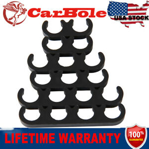 Set Of 6 Pack Spark Plug Wire Separators Dividers Looms For Chevy Ford 7mm 8mm