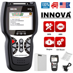 Innova Obd2 Diagnostic Tool Abs Srs Warning Light Engine Automotive Scanner