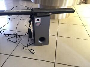 Lg Bluetooth Sound Bar And Subwoofer s34a2 D