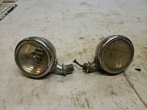 Original 1933 1934 Ford Cowl Lights Lamps
