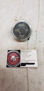 Temperature Gauge Ford Chevy Dodge 1949 1950 1951 1952 1953 1954 1955 1956