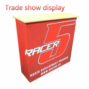 Fabric Pop Up Counter Display For Trade Show Display