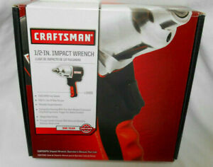 Nib New In Box Craftsman 1 2 Dr Drive Air Impact Wrench 916882