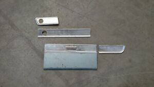 Plymouth Valiant Signat 200 Dash Trim Glove Box Door 1963 Only