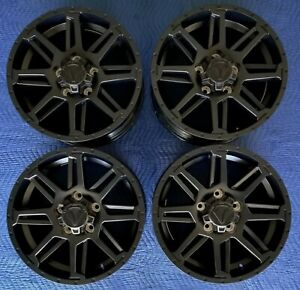 Toyota Tundra 2019 Tss Trd Oem 20 Black Wheels Lugs Excellent Condition