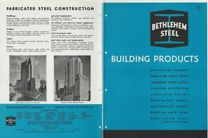 1947 Bethlehem Steel Building Products Structural Construction Buil