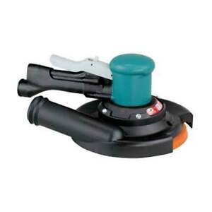 Dynabrade Sander 8 Inch Two Hand Gear Driven With Vinyl Pad 58446
