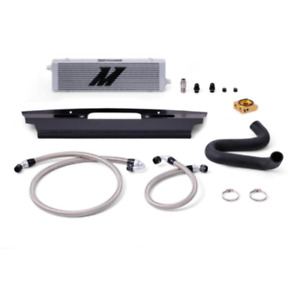 Mishimoto Thermostatic Silver Oil Cooler For 15 Ford Mustang Gt