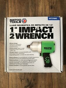 Matco Tools 1 2 Composite Impact Wrench Mt2769g Green