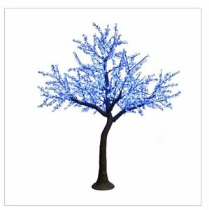 12FT BlueWht Cherry Blossom LED Indoor Outdoor Lighted Tree Commercial Quality $1,999.99