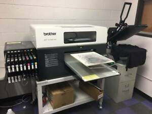 Brother Dtg Gt 381 Printer Heat Press And Xpt 1000 Garment Pretreater Package