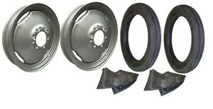 Front Rim Tire Set Ford 8n Tractor