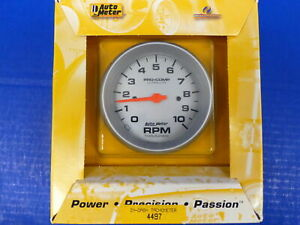 Auto Meter 4497 Ultra Lite Pro Comp Electric Tachometer 10 000 Rpm In Dash 3 3 8