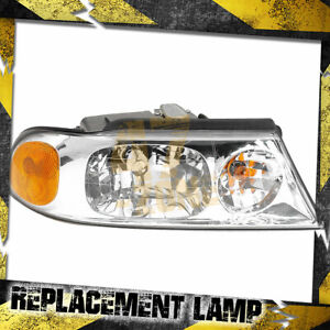 For 2000 Lincoln Navigator Right Passenger Side Head Lamp Headlight