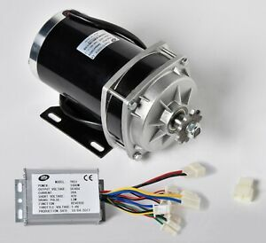 1000w 48 V Dc Gear Reduction Electric Motor reverse Capable Controller