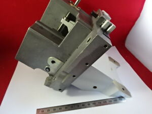 Leica Germany Dmr Stage Holder Assembly Micrometer Microscope Part