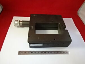 Aerotech Positioning Stage Ats 303w Microscope Part Optics As Pictured
