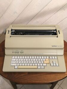 Brother Em 530 Electric Typewriter With Cover Excellent Condition Very Clean