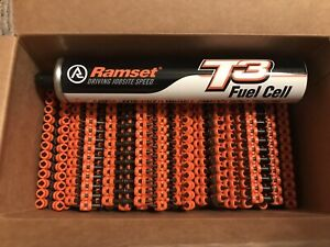 1000 Ramset T3034b Concrete Pin 3 4 19mm T3 Fuel Cell
