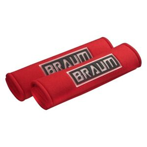 Braum Red Racing Harness Pads Brhp 2red Pair