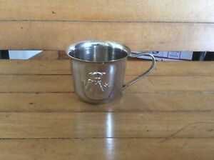 Vintage Princess House Silver Plated Baby Cup