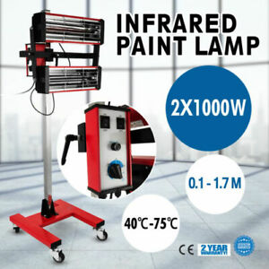 2x1000w Baking Infrared Paint Curing Lamp 602 Shortwave Infrared Filter Lamp