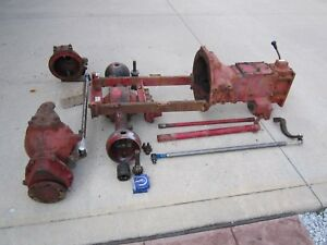 Ih International 284 Diesel Tractor Mfwd Assembly