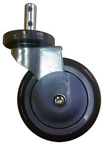 4 Pc 5 Swivel Wheel Caster Heavy Duty For Laundry Wire Carts Or Other New