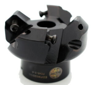 Mil tec 2 45 lead Angle Freedom Cutter Plus Indexable Shell Mill Usa 02050