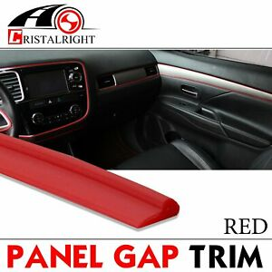 180 Moulding Strip Trim Red Line Decorative Car Accessory Door Edge Guard