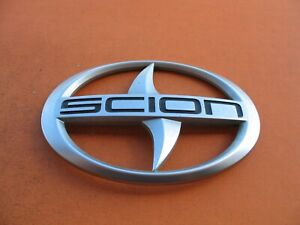 11 12 13 14 15 16 Scion Tc Rear Trunk Lid Center Emblem Logo Badge Sign Oem 2