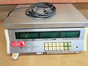 Tec Pos 30lb X 0 01 Digital Computing Scale Sl31 30 Deli Meat Food Checkout