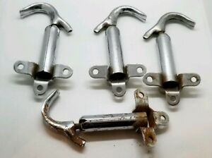 Vintage Model A Ford Chrome Hood Latches Set Of 4 3 Hole 1928 1929