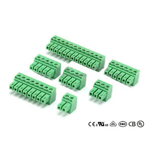 3 81mm Pitch Pcb Terminal Block Ramps Connector Plug in Screw 2 3 4 5 6 8 12pin