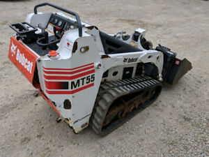 2007 Bobcat Mt55 Track Skid Steer Loader