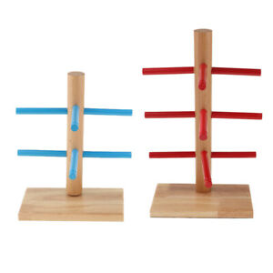 2pcs Wood Sunglasses Eye Glasses Show Rack Display Stand Organizer 2 3 Layer