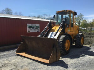 1999 Jcb 416ht Tool Carrier Wheel Loader W Cab Clean One Owner Machine