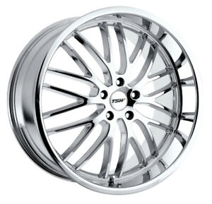1 New 20x8 5 Tsw Snetterton Chrome Wheel Rim 5x112 5 112 20 8 5 Et35