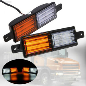C9ed Warning Lights Wing Durable Vehicle 30led Tail Lights Rear Lamps Universal