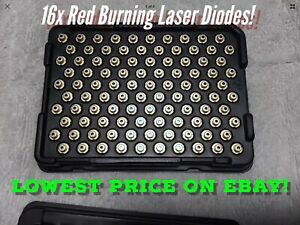 Sale 100pc Burning Red Laser Diodes Rld65pzb5 Up To 240mw 658nm 5 6mm 16x