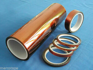 Merco Polyimide Film Tape 2 X 36 Yds Use For Kapton 12 Rolls