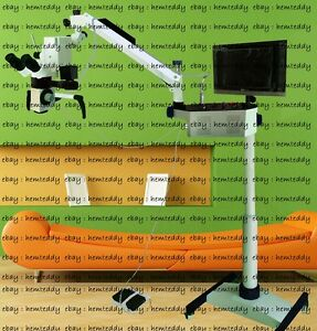 5 Step Dental Microscope Motorized Focusing With Accessories