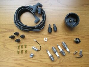Complete Ignition Tune Up Kit Set Ih Farmall 424 444